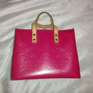 Authentic Louis Vuitton pink vernis purse